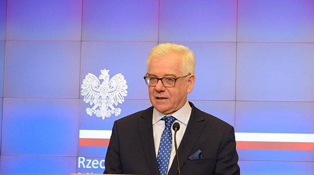 В польском МИДе не верят в отмену санкций против России