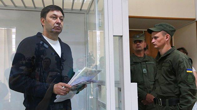 Херсонский суд оставил Вышинского под арестом до 4 ноября