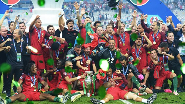 Португалия стала чемпионом Европы