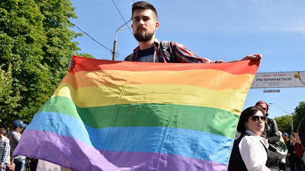 В Одессе после марша ЛГБТ начались столкновения