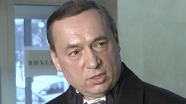 Мартыненко получил уведомление о подозрении