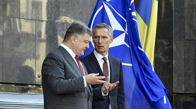 Порошенко и Столтенберг договорились о срочном созыве комиссии Украина — НАТО