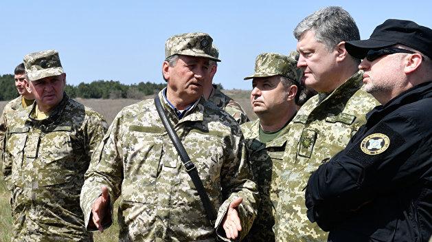Сценаристы войны: Украинский Генштаб готовится к обострению ситуации