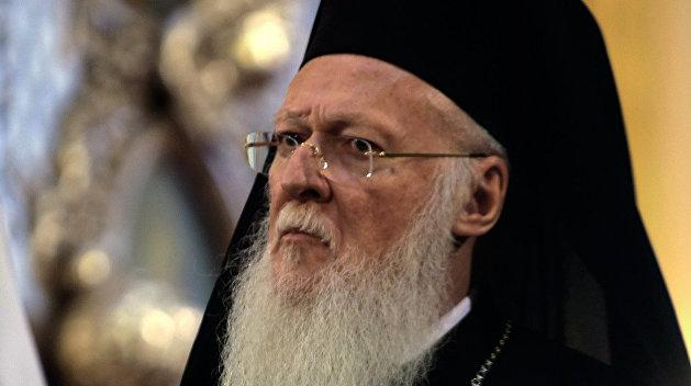 Патриарх Варфоломей: Украина имеет право на получение автокефалии
