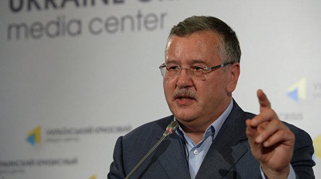 Гриценко призывает Садового к скорейшему объединению