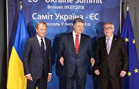 Порошенко в Брюсселе: Имитация евроинтеграции прошла успешно