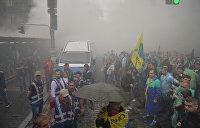 По ком горят шины. В центре Киева протестуют автовладельцы (ФОТО ВИДЕО)