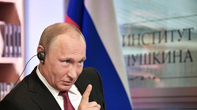 Путин: Киев должен выполнять Минские соглашения