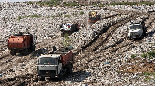 Львовский мусор добрался до Полтавской области