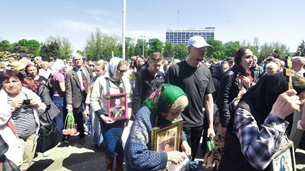 Провокации: в Одессе отменили крестный ход, посвященный Дню Победы
