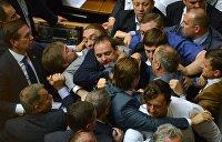 ТОП-5 драк украинских политиков за последний год