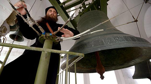 Во всех храмах Русской Православной Церкви 9 мая прозвучал колокольный звон