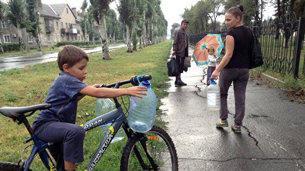 ЮНИСЕФ: Жители Донбасса могут остаться без питьевой воды