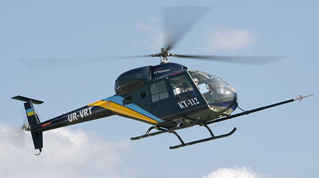 Презентован новый украинский военный вертолет с «кухонной вытяжкой»