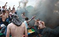 Незамеченный погром: Ультрас избили десятки цыган в центре Киева