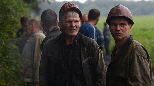 Киев обещает 7 лет тюрьмы шахтерам Донбасса за выход на работу