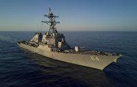 Военный эксперт: Американские корабли в Черном море находятся в западне