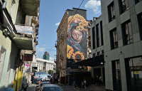 Киевская живопись прирастает стенами. Фоторепортаж про муралы