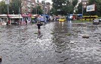 Столица под водой: на Киев обрушился «тропический» ливень