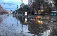 Аномальные дожди в Киеве: За что природа наказывает столицу Украины