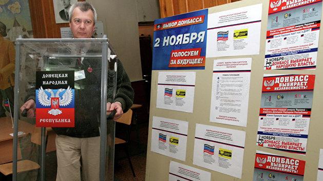 ДНР: Советники НАТО едут в Донбасс, чтобы сорвать выборы