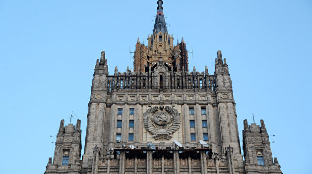 Российские дипломаты опровергли задержание корреспондента ВГТРК в Одессе