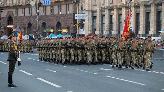 Шаг Сечевых стрельцов: Украина будет маршировать по-своему