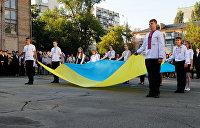 Гимн в школах и новый герб Украины