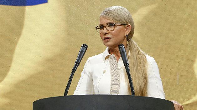 Чечило: Тимошенко на всех парах летит к поражению на выборах