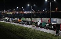 На границе Украины с Польшей накопились рекордные очереди