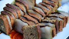 Диетолог посоветовала украинцам завтракать салом