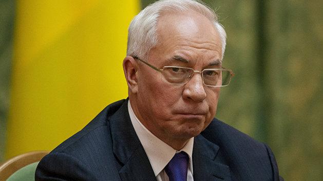 Генпрокуратура Украины хочет допросить экс-премьера Азарова