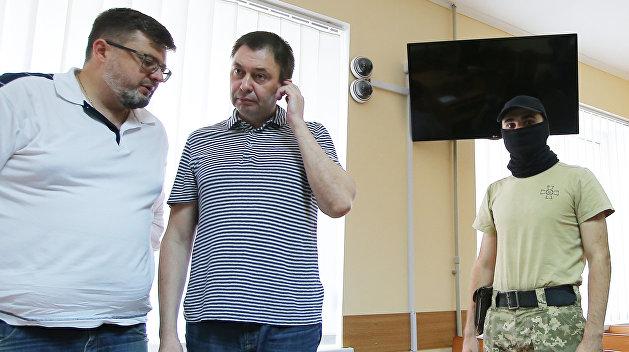 В России журналисту Вышинскому дали премию за то, за что его держат в СИЗО на Украине