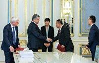 Порошенко рассказал, сколько денег Норвегия потратит на возвращение Крыма Украине