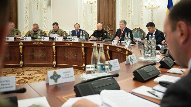 СНБО поручил Минобороны и Генштабу ВСУ безотлагательно уточнить объемы призыва резервистов