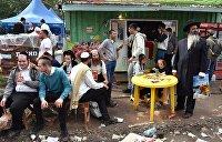 Приехавших в Умань хасидов оставили без электричества