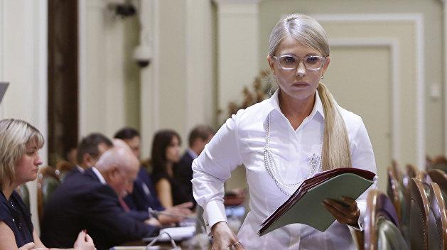 Тимошенко хочет ускорения роста ВВП на Украине на 7% в год