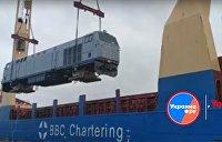 Даешь американское: первый поезд из США на Украине назвали «Тризуб»