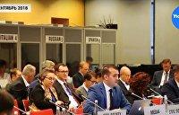 Разгром пропаганды Порошенко на конференции ОБСЕ в Варшаве - видео