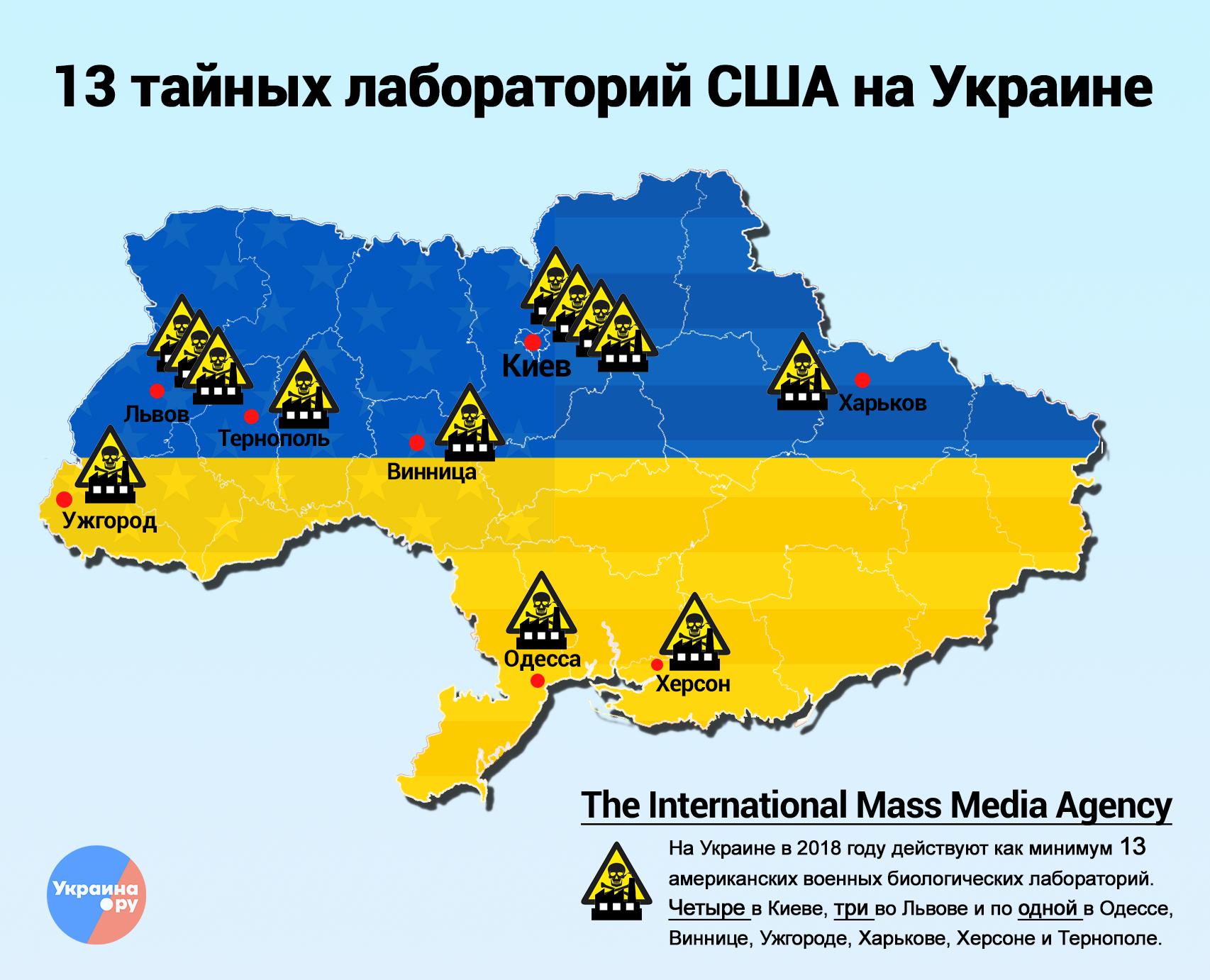 Секретные лаборатории США: Украину поражают вирусы-мутанты
