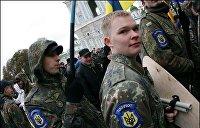 Выборы на Украине. Голосование под контролем неонацистов и продажная социология