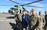Министр обороны Великобритании посетил Донбасс