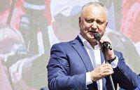 Как Додон под выборы «воссоединяет» Молдавию
