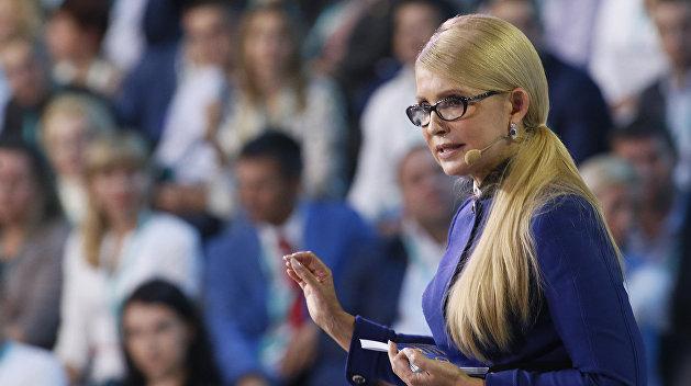 Тимошенко: Украинцы в панике бегут из страны