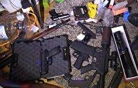 В Киеве владелец оружейного склада угрожал ружьём соседям
