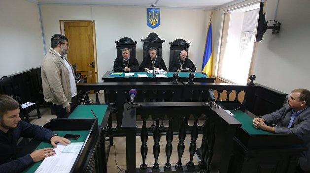 Адвокат: Рассмотрение апелляции на арест Вышинского перенесено на 2 октября