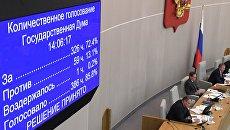 Законопроект о повышении пенсионного возраста прошел второе чтение в Госдуме