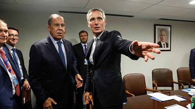 НАТО: Столтенберг не обсуждал с Лавровым вопрос о военной базе США в Польше