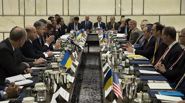 Порошенко отчитался о реформах на встрече с представителями бизнеса США