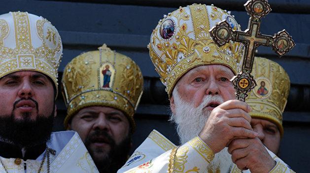 Раскольник Филарет в Раде назвал условие изгнания «московского духа»